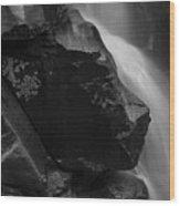 Nooksack River Falls Wood Print