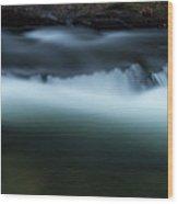 Noontootla Creek #3 Wood Print