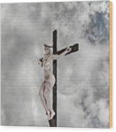 Nordic Female Jesus Wood Print