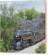 Norfolk and Western Class J #611 Wood Print
