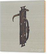 Norfolk Latch Wood Print