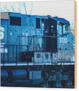 Norfolk Southern Engine 9720 Wood Print