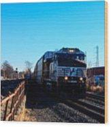Norfolk Southern Engine 9899 Wood Print