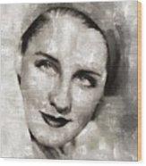 Norma Shearer, Actress Wood Print