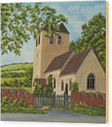 Norman Church In Fingest Wood Print