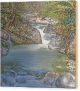 Norrish Creek Wood Print