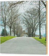 Norristown Farm Park Over The Rise Wood Print