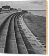 North Beach, Heacham, Norfolk, England Wood Print