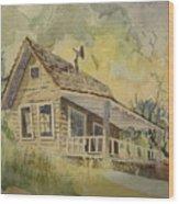 North Bloomfield Wood Print
