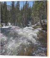 North Fork Middle Boulder Creek  Wood Print