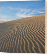 North Carolina Jockey's Ridge State Park Sand Dunes Wood Print