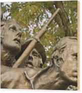North Carolina Monument Wood Print