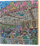 North Carolina State Fair 5 Wood Print