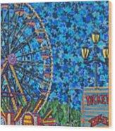 North Carolina State Fair 6 Wood Print
