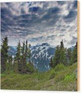 North Cascades National Park - Washington Wood Print by Brendan Reals