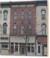 North Country Main Street Of Gouverneur, New York Wood Print