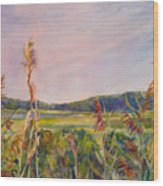 North Fork Wood Print