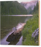 North Fork Of The Clearwater Wood Print by Idaho Scenic Images Linda Lantzy
