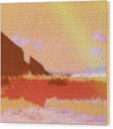 North Friars Bay Diffused Wood Print