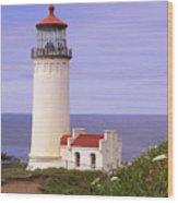 North Head Lighthouse Li 2000 Wood Print
