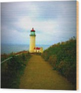 North Head Lighthouse V Wood Print