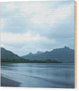 North Kaneohe Bay Wood Print