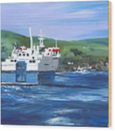 North Link - Stromness Wood Print