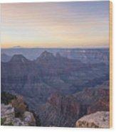 North Rim Sunrise 2 - Grand Canyon National Park - Arizona Wood Print