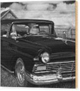 North Rustico Vintage Car Prince Edward Island Wood Print