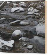 North St. Vrain Creek Wood Print