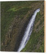 North Table Mountain Falls Wood Print