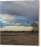 North Texas Landscape Wood Print