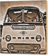 North Wales Nostalgia Wood Print