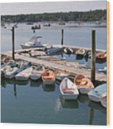 Northeast Harbor Maine Wood Print