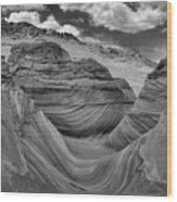 Northern Arizona Desert Swirls Wood Print