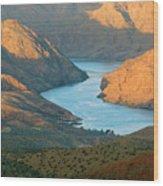 Northern Arizona Lake Mead Wood Print