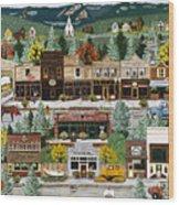 Northern Exposure Wood Print