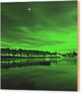 Northern Lights 3 Wood Print