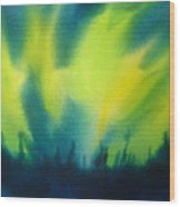 Northern Lights I Wood Print