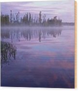 Northern Morning Beauty Wood Print