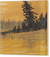Northern Ontario Three Wood Print