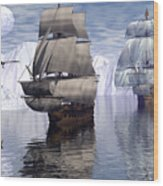 Northern Passage Wood Print
