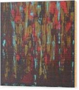 Northern Rain Wood Print