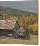 Northern Refuge Wood Print
