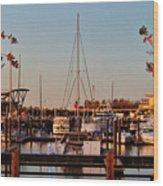 Northern Riverfront Wood Print