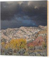 Northern Uintas Autumn Wood Print