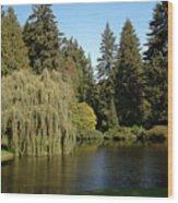 Northwest Garden Wood Print