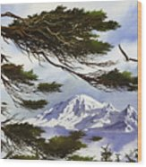 Northwest Majesty Wood Print