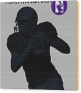 Northwestern Football Wood Print