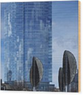 Northwestern Mutual Tower - Milwaukee Wisconsin 2017 Wood Print